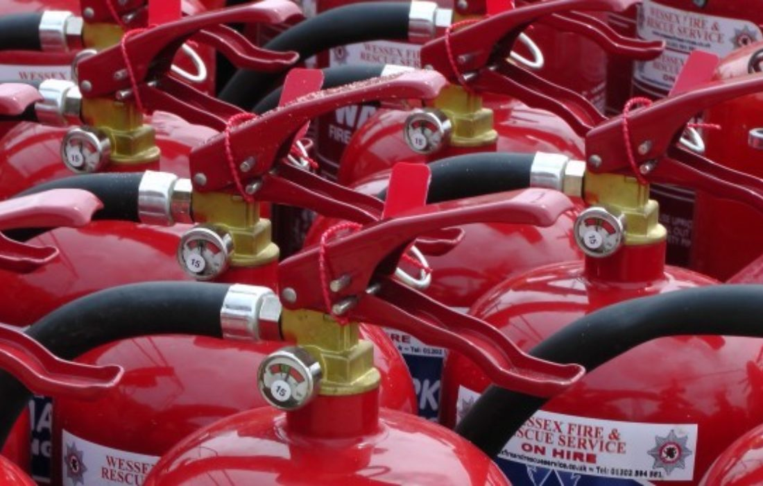 Fire Extiguisher Tops